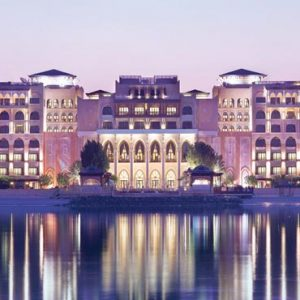 Abu Dhabi Honeymoon Packages Shangri La Hotel Qaryat Al Beri Hotel Exterior1