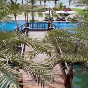 Abu Dhabi Honeymoon Packages Shangri La Hotel Qaryat Al Beri Shangri La Residences Pool