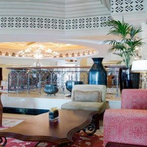 Abu Dhabi Honeymoon Packages Shangri La Hotel Qaryat Al Beri Lobby Lounges
