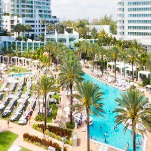 Aerial View Fontainebleau Miami Beach Miami Honeymoons