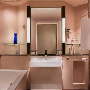 Bali Honeymoon Packages Hard Rock Hotel Bali Deluxe Suite Bathroom
