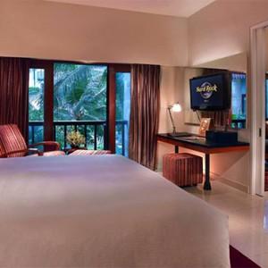 Bali Honeymoon Packages Hard Rock Hotel Bali Deluxe Suite Bedroom