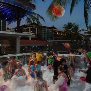 Bali Honeymoon Packages Hard Rock Hotel Bali Foam Party