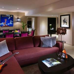 Bali Honeymoon Packages Hard Rock Hotel Bali Rockstar Suite Living Room And Dining