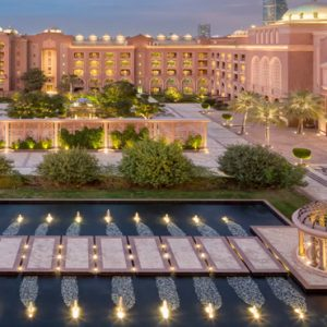 Ballroom Terrace View Emirates Palace Abu Dhabi Abu Dhabi Honeymoons