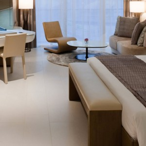 abu dhabi honeymoon packages - yas viceroy abu dhabi - marina deluxe room