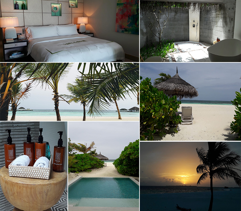 Estelles Kanuhura Blog Estelle's Beach Villa With Pool