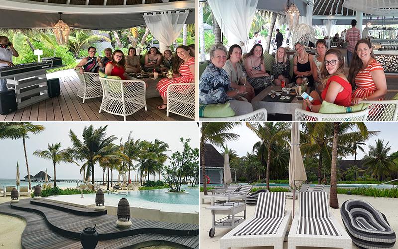 Estelles Kanuhura Blog Guests Sundowner Cocktail Evening At Cowry Club