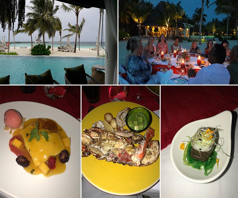 Estelles Kanuhura Blog Guests Sundowner Cocktail Evening At Cowry Club 1