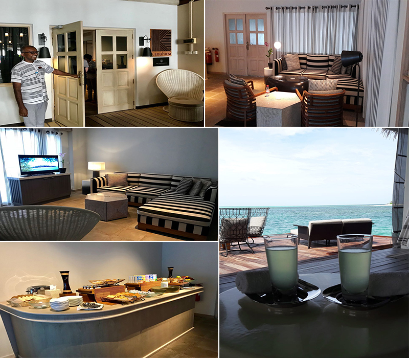 Estelles Kanuhura Blog Private Seaplane Lounge