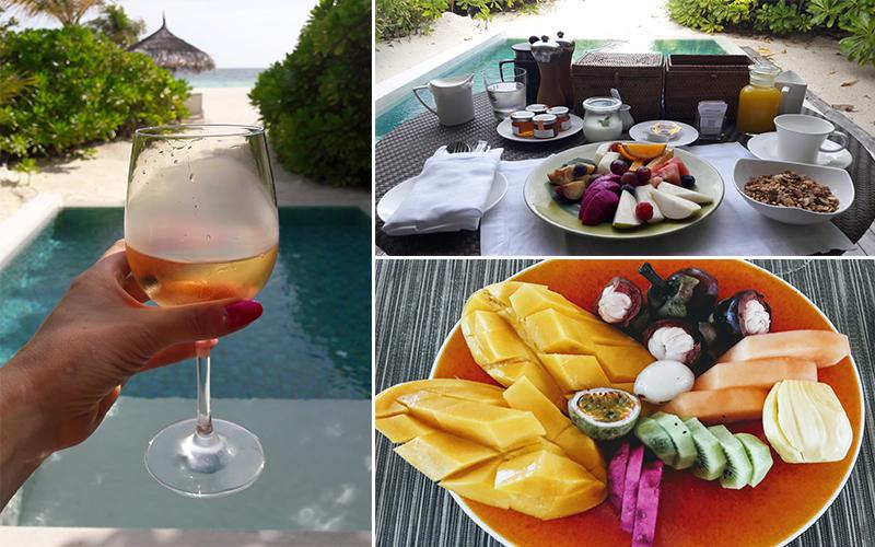 Estelles Kanuhura Blog In Villa Breakfast