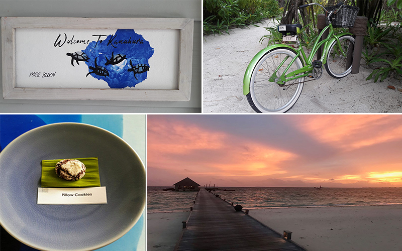 Estelles Kanuhura Blog Personalised Plaque And Bike At Kanuhura