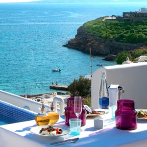 Honeymoon Suite 3 Grace Mykonos Luxury Greece Holiday Packages