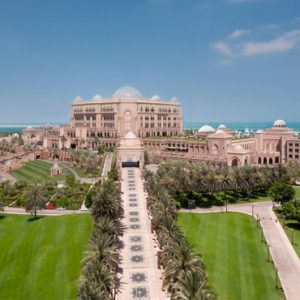 Hotel Exterior By Day Emirates Palace Abu Dhabi Abu Dhabi Honeymoons