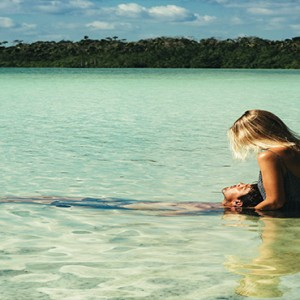 Mexico Honeymoon Packages Azulik Resort And Spa Mystikal Lagoon Wonder