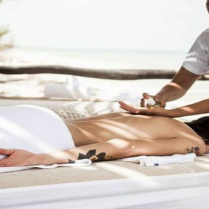 Mexico Honeymoon Packages Azulik Resort And Spa Spa Massage