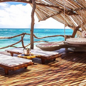 Mexico Honeymoon Packages Azulik Resort And Spa Villa Dining
