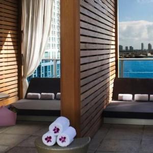 Miami Honeymoon Packages Kimpton EPIC Hotel Miami Cabanas