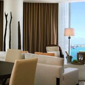 Miami Honeymoon Packages Kimpton EPIC Hotel Miami Lounge