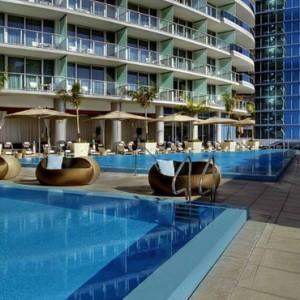 Miami Honeymoon Packages Kimpton EPIC Hotel Miami Pool