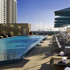 Miami Honeymoon Packages Kimpton EPIC Hotel Miami Pool 3