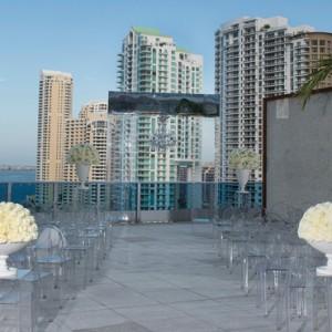 Miami Honeymoon Packages Kimpton EPIC Hotel Miami Wedding