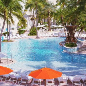 Miami Honeymoon Packages Loews Miami Beach Hotel Pool 3