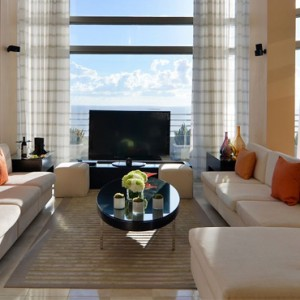 Miami Honeymoon Packages Loews Miami Beach Hotel Presidential Ocean Front Balcony Suite