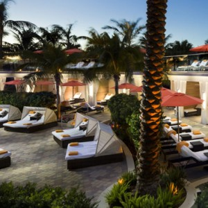 Miami Honeymoon Packages Loews Miami Beach Hotel Cabana