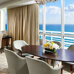 Miami Honeymoon Packages Fontainebleau Miami South Beach La Mer Presidential
