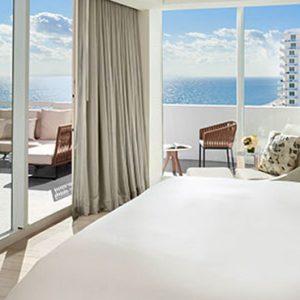 Miami Honeymoon Packages Fontainebleau Miami South Beach Le Ciel Oceanfront Suite