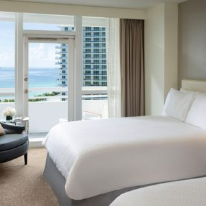 Miami Honeymoon Packages Fontainebleau Miami South Beach Ocean Front Two Bedroom Suites In Versailles 2
