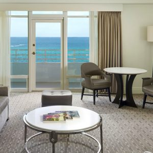 Miami Honeymoon Packages Fontainebleau Miami South Beach Oceanfront One Bedroom Suite With Balcony 2