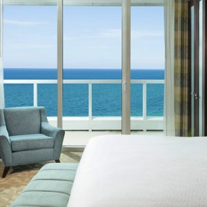 Miami Honeymoon Packages Fontainebleau Miami South Beach Sorrento One Bedroom Oceanfront Suite