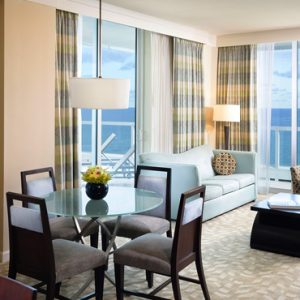 Miami Honeymoon Packages Fontainebleau Miami South Beach Sorrento One Bedroom Oceanfront Suite 2