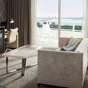Miami Honeymoon Packages Fontainebleau Miami South Beach Tresor Bay View One Bedroom Suite