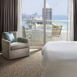 Miami Honeymoon Packages Fontainebleau Miami South Beach Tresor Ocean View One Bedroom Suite