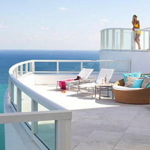 Miami Honeymoon Packages Fontainebleau Miami South Beach Tresor Penthouse
