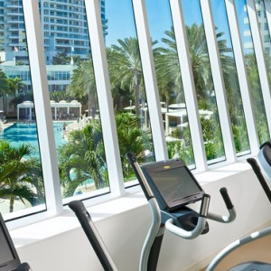 Miami Honeymoon Packages Fontainebleau Miami South Beach Gym