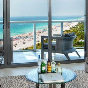Miami Honeymoon Packages W South Beach Miami Fantastic Ocean View Suite With Balcony