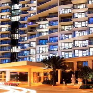 Miami Honeymoon Packages W South Beach Miami Hotel Exterior At Night