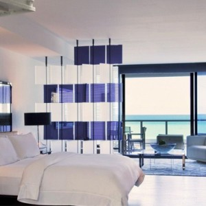 Miami Honeymoon Packages W South Beach Miami Mega Ocean View Suite With Balcony