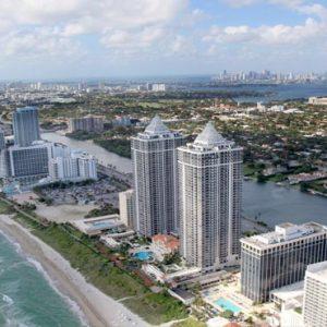 Miami Honeymoon Packages W South Beach Miami Mid Beach Aerial