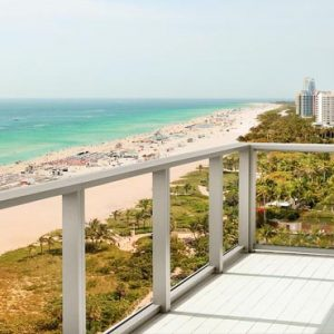 Miami Honeymoon Packages W South Beach Miami Oceanfront Balcony
