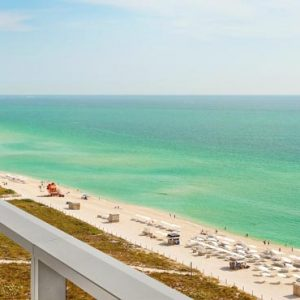 Miami Honeymoon Packages W South Beach Miami Oceanfront Balcony1