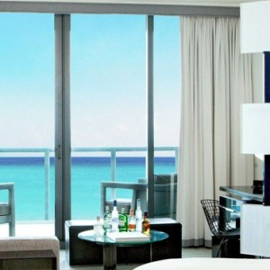 Miami Honeymoon Packages W South Beach Miami Spectacular Ocean View Studio Suite With Balcony