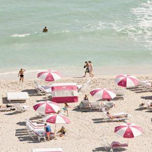 Miami Honeymoon Packages W South Beach Miami Umbrellas At Sand