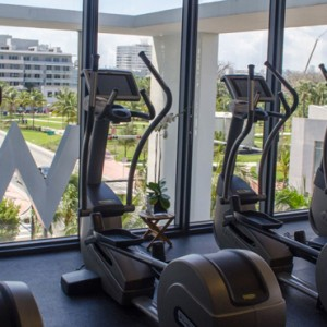 Miami Honeymoon Packages W South Beach Miami Gym 3