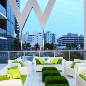 Miami Honeymoon Packages W South Beach Miami Terrace