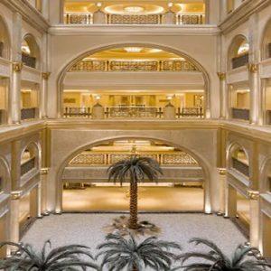 Palm Tree Corridors Emirates Palace Abu Dhabi Abu Dhabi Honeymoons